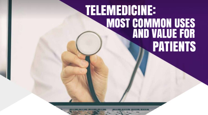 "TELEMEDICINE: ""THE MOST COMMON USES AND HIGHEST VALUE FOR PATIENTS"""