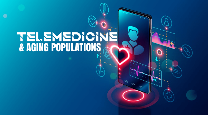 GERIATRIC TELEMEDICINE:  NEW CONNECTIVITY AND CONVENIENCE AT HOME