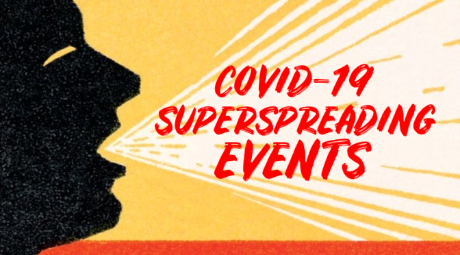 "COVID-19: ""SUPERSPREADING EVENTS"" – HOW THEY LEAD TO 80% OF INFECTED PEOPLE"