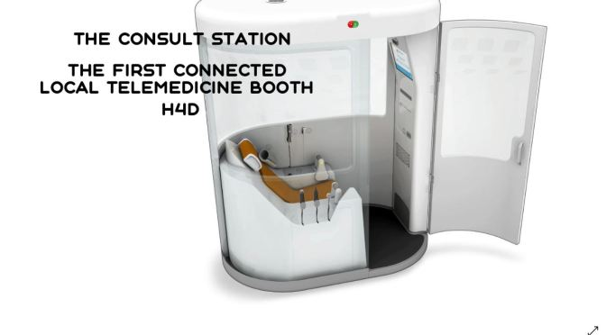 "TECHNOLOGY: H4D ""CONSULT STATION"" – 1ST CONNECTED LOCAL TELEMEDICINE BOOTH"