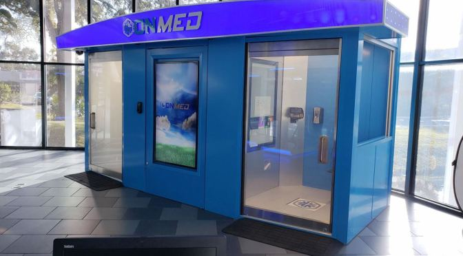 "INNOVATIONS: ""ONMED STATION"" – SELF-CONTAINED, HI-TECH TELEMEDICAL UNIT"