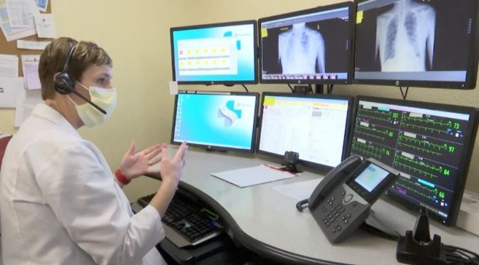 "Telemedicine: ""Remote ICU's"" Assist Hospitals With Covid-19 Caseloads"