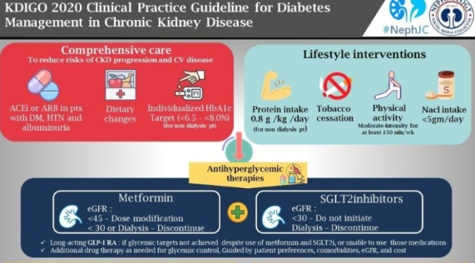 HEALTH: 'DIABETES AND CHRONIC KIDNEY DISEASE' – NEW GUIDELINES (OCT 2020)