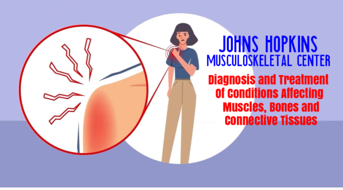 MEDICAL: 'JOHNS HOPKINS MUSCULOSKELETAL CENTER' – FOR MUSCLES, BONES AND CONNECTIVE TISSUES (VIDEO)