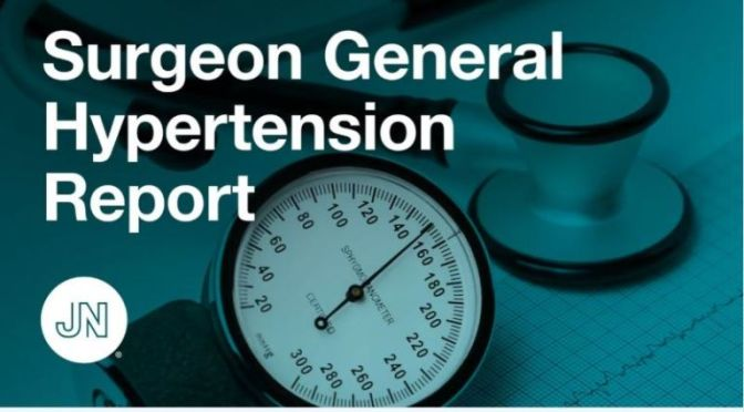 HEALTH VIDEO: 'SURGEON GENERAL HYPERTENSION REPORT' (JAMA NETWORK)