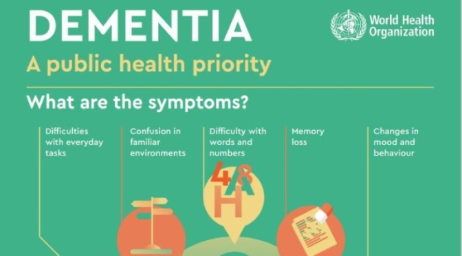 INFOGRAPHIC: 'DEMENTIA – SYMPTOMS, CAUSES & COSTS'