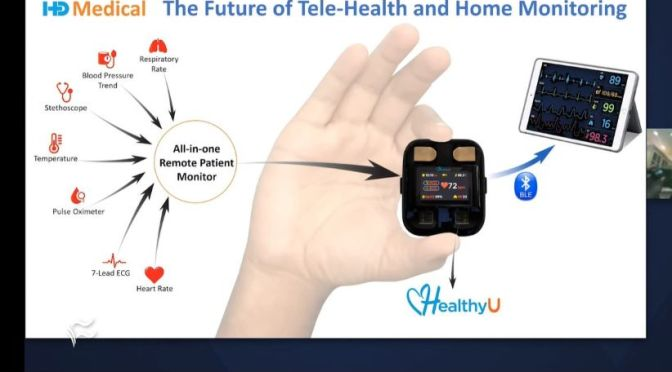 Innovations: New 'Remote Patient Monitor' – Heart Rate, Blood Pressure, ECG
