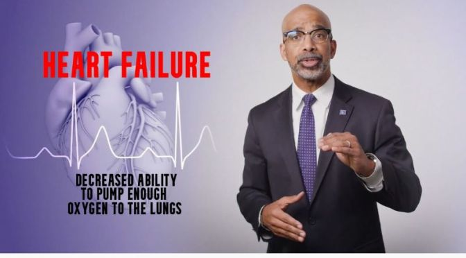 Heart Failure: 'What It Is & How To Treat It' (Video)