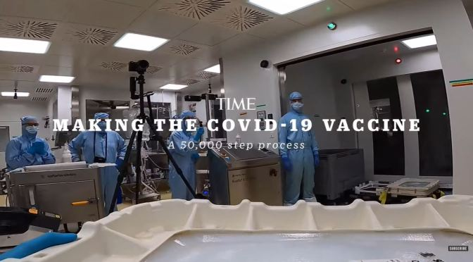 COVID-19: INSIDE THE BIONTECH LAB PRODUCING THE WORLD'S TOP VACCINE