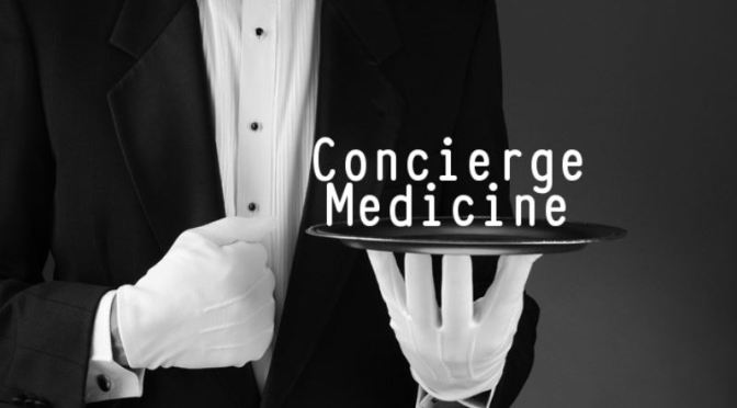DR. C'S JOURNAL: THE RISE OF 'CONCIERGE MEDICINE'