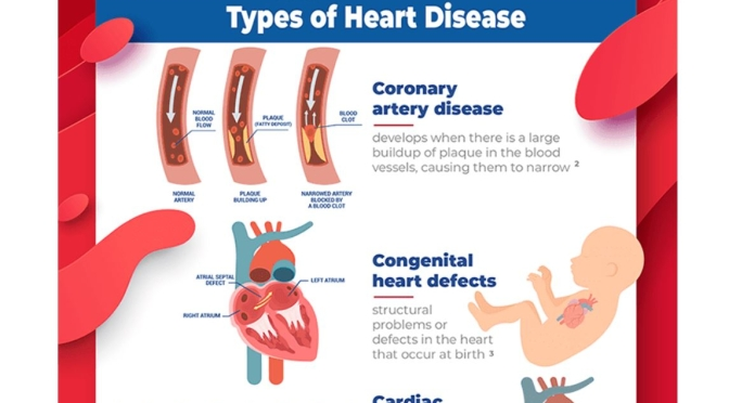 INFOGRAPHIC: TYPES AND CAUSES OF HEART DISEASE
