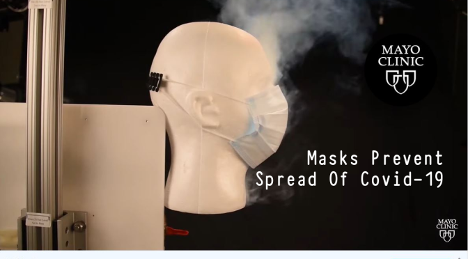 MAYO CLINIC STUDY: MASKS PREVENT SPREAD OF COVID