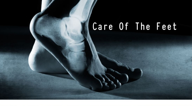 DR. C'S JOURNAL: SOME TIPS FOR CARE OF THE FEET