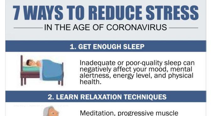 INFOGRAPHIC: 7 WAYS TO REDUCE STRESS (HARVARD)